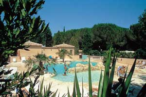 Camping Les Cigales nabij Cannes