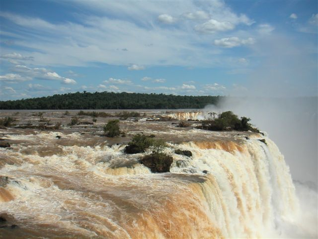 rivier watervallen Brazilie