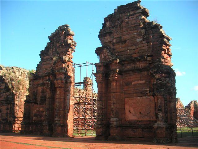Jesuiten ruines San Ignacio