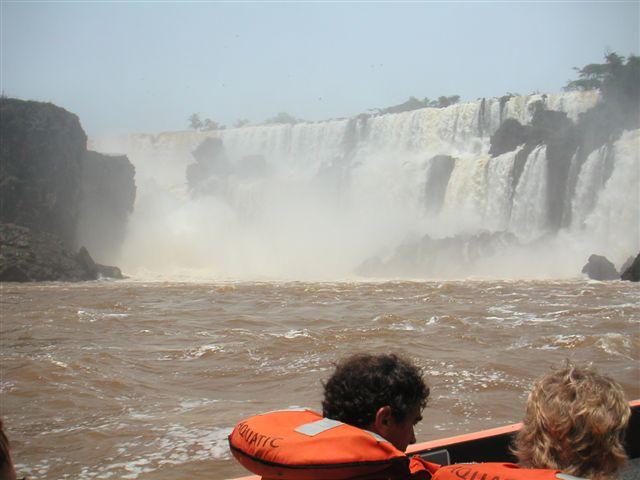 speedboot watervallen