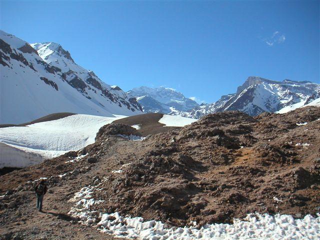 Uitzicht op Aconcagua