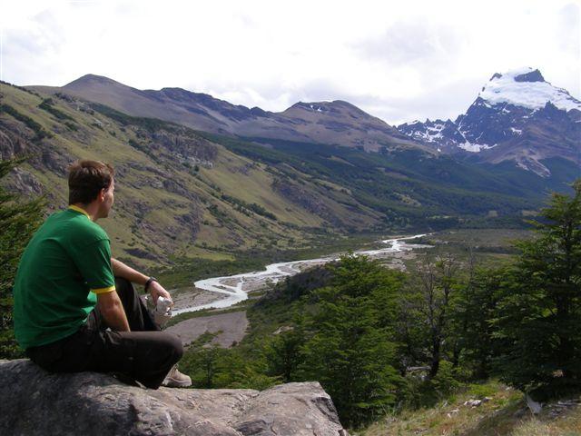 Arno in Los Glaciares park, El Chalten