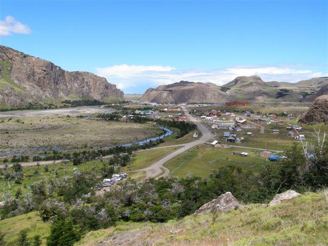 El Chalten - park Los Glaciares