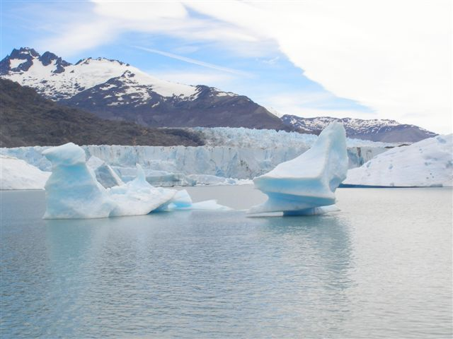 boottocht - Upsala glaciar