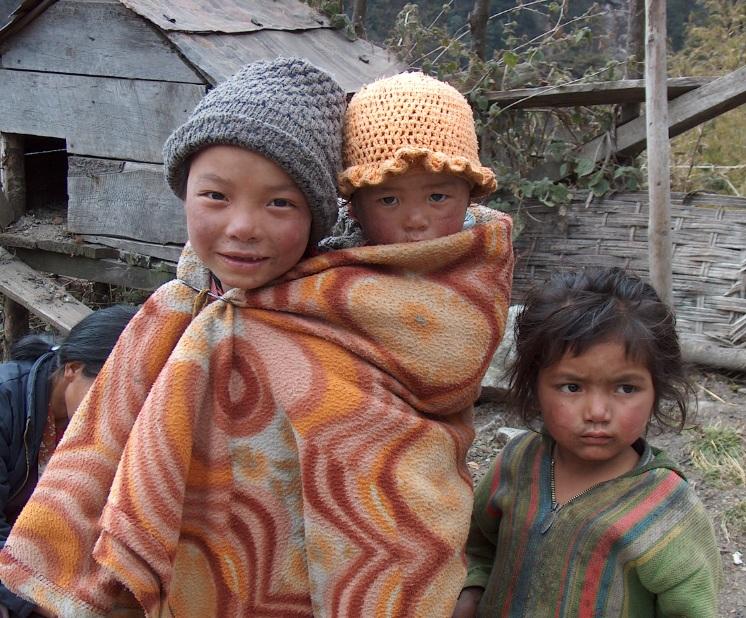 Childern Sikkim
