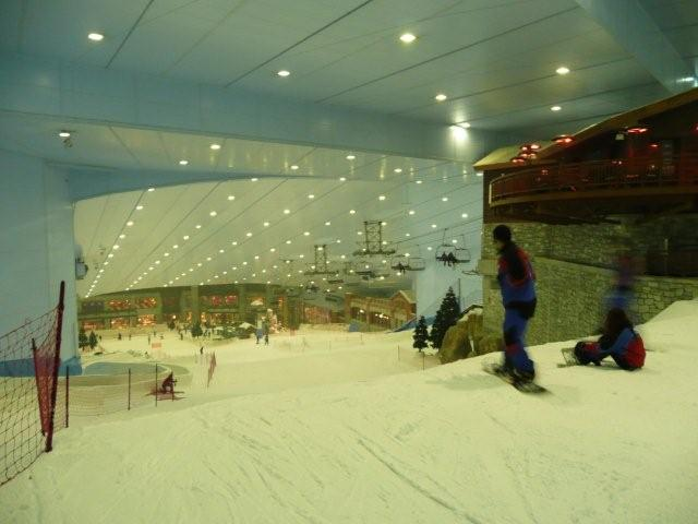 ski dubai, wintersport