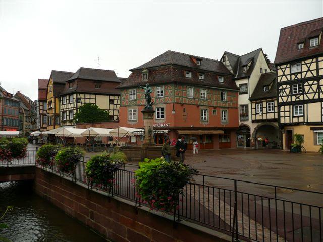 Colmar City Center Alsace France