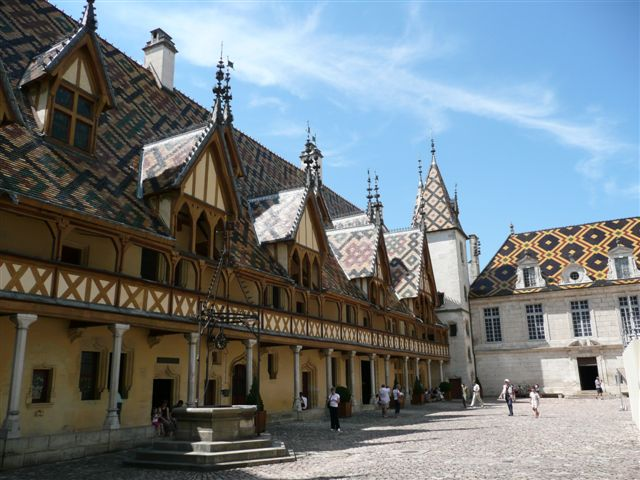 Beaune France  City new picture : Hotel Dieu, Beaune, Burgundy, France