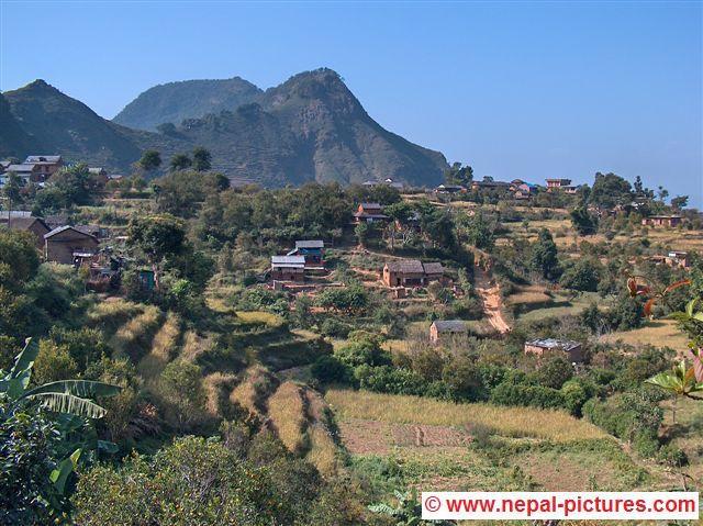 Omgeving van Bandipur