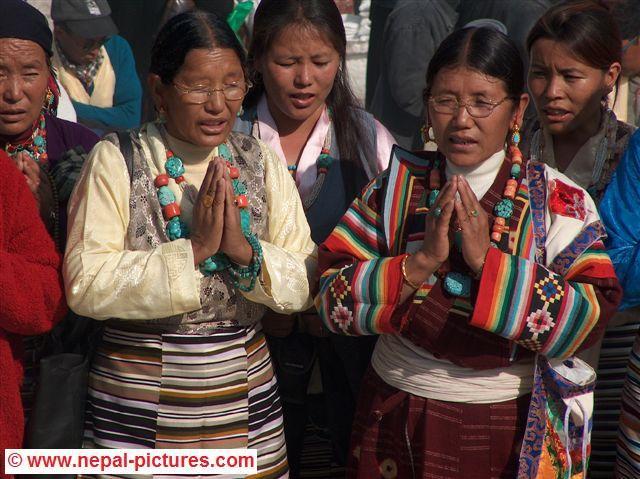 Tibetan Women, Lhosar, Festival