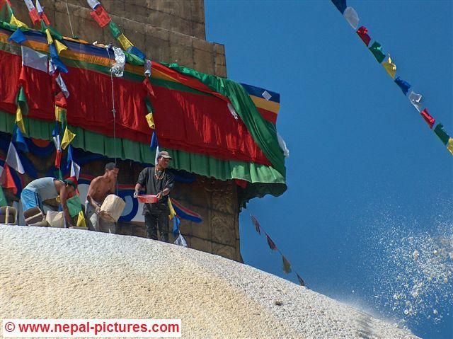 boudhanath stupa - Losar Festival