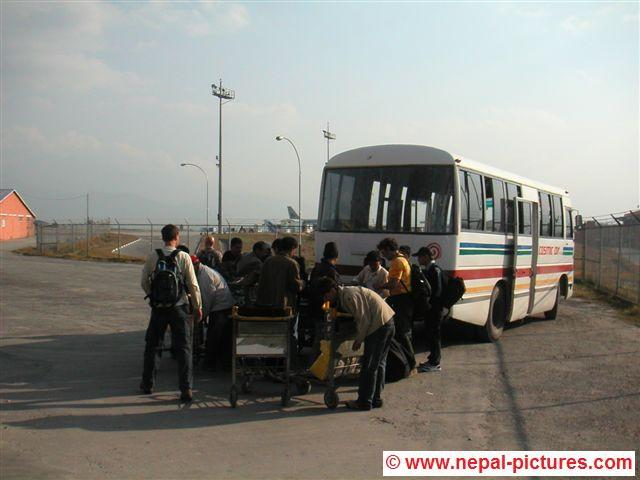 vliegveld Kathmandu