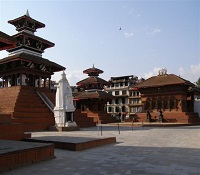 Jamacho peak Kathmandu valley