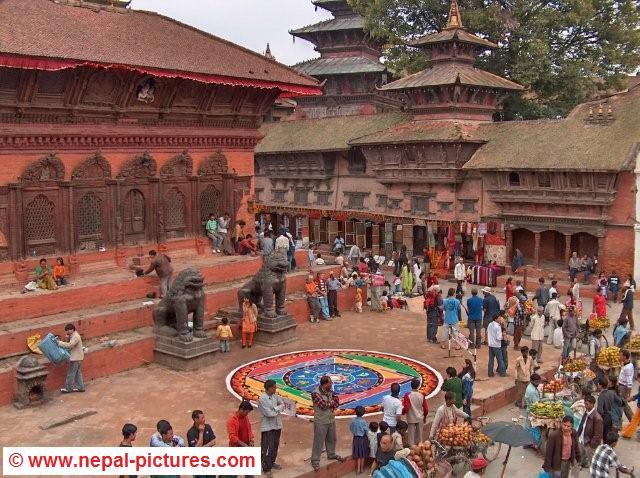 Tihar festival Kathmandu