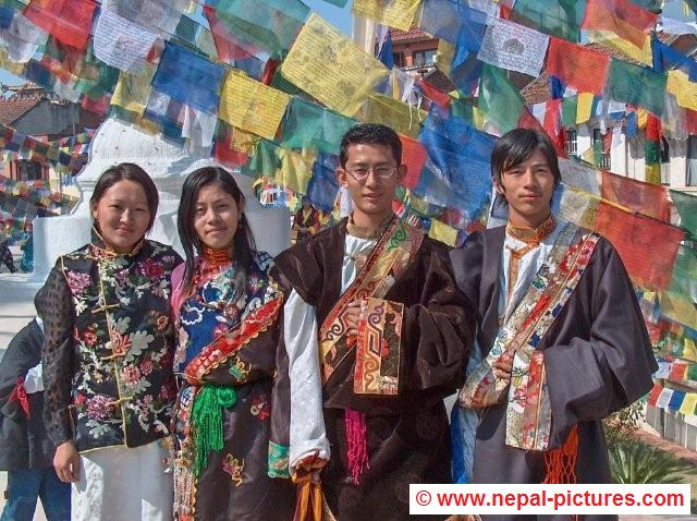 Nepalese Traditional Clothing Traditional clothes losar