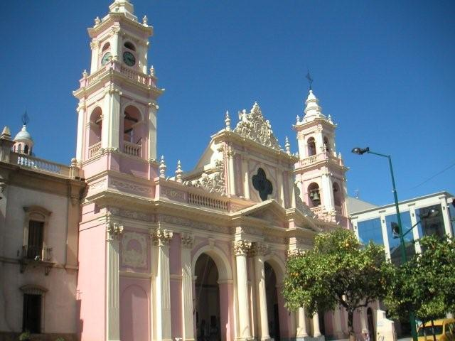 Church in Cachi Salta province
