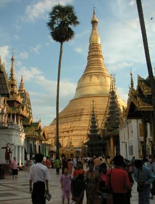 shwedagon-pagoda, Birma