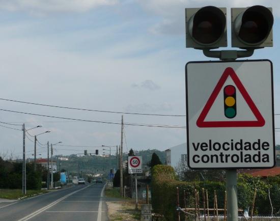 Effectieve snelheidscontrole, Algarve, Portugal