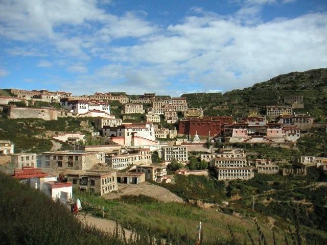 Drepung monastery near Lhasa