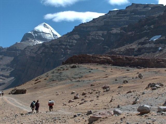 Sagadawa festival Mount Kailash Tibet