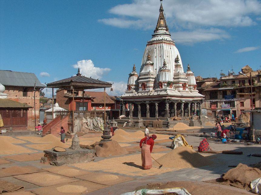 01354 nepal bungamati tempel
