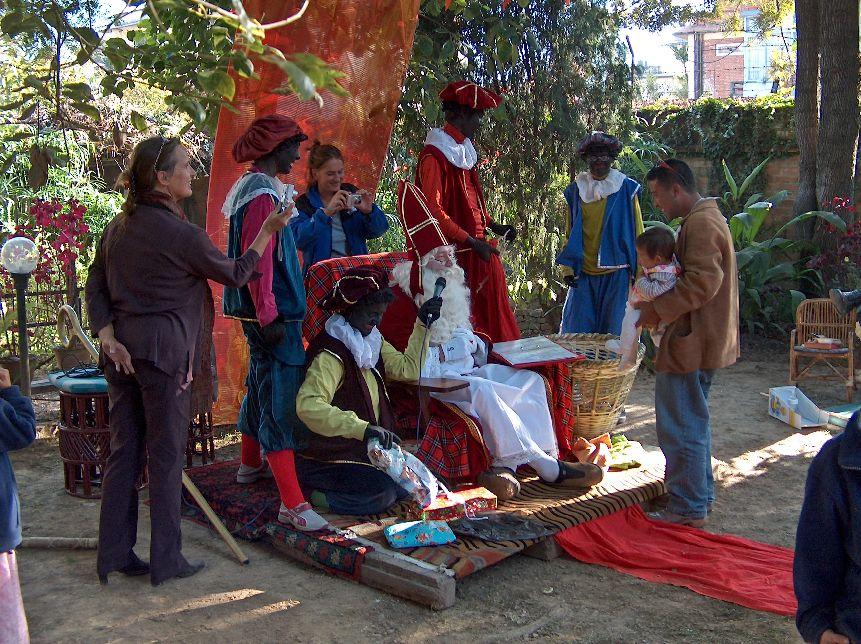 Sinterklaas in Patan