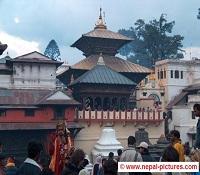 Pashupatinath temple Kathmandu valley